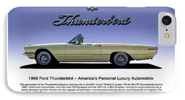 66 T-bird Display Piece IPhone Case by Douglas Pittman