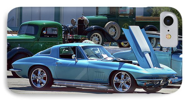 IPhone Case featuring the photograph 67 Corvette Bb Coupe by Bill Dutting