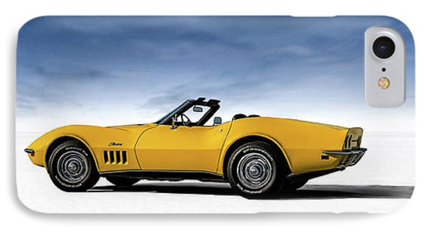 '69 Corvette Sting Ray IPhone Case by Douglas Pittman