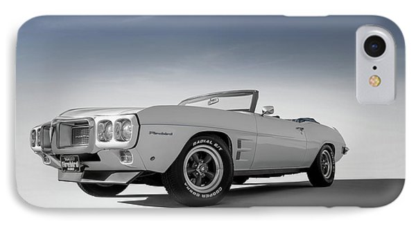69 Firebird Convertible IPhone Case by Douglas Pittman