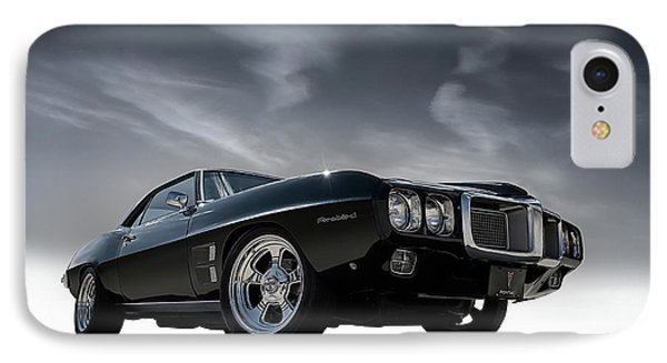 69 Pontiac Firebird IPhone Case by Douglas Pittman