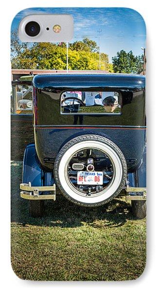 1924 Buick Duchess Antique Vintage Photograph Fine Art Prints 117 IPhone Case by M K  Miller
