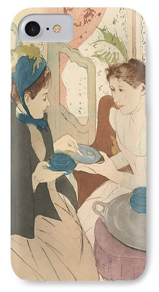 Afternoon Tea Party IPhone Case by Mary Cassatt