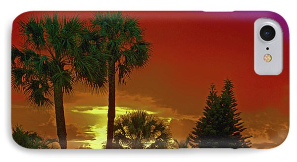 IPhone Case featuring the digital art 7- Holiday by Joseph Keane