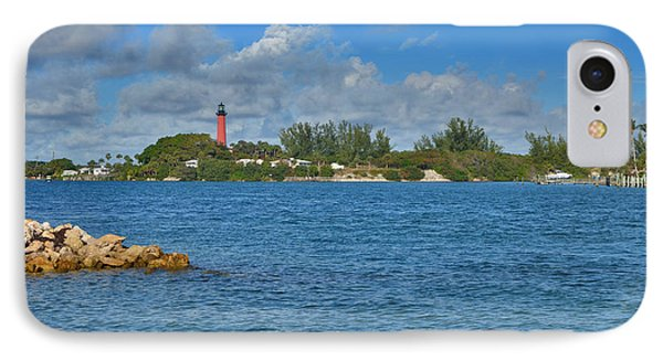 7- Jupiter Lighthouse IPhone Case by Joseph Keane