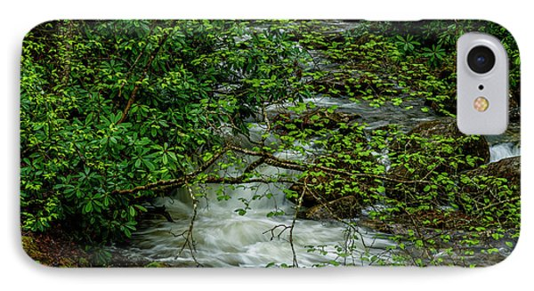 IPhone Case featuring the photograph Kens Creek Cranberry Wilderness by Thomas R Fletcher