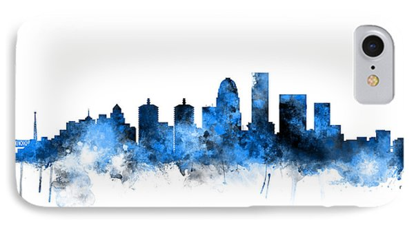 Louisville Kentucky City Skyline IPhone Case