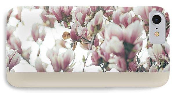 Magnolia IPhone 7 Case by Jelena Jovanovic