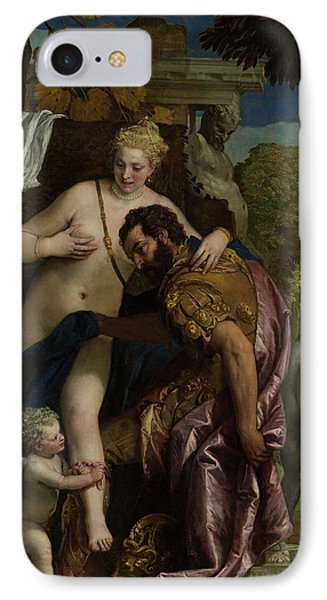 Mars And Venus United By Love  IPhone Case by Paolo Veronese