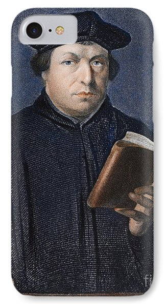 Martin Luther (1483-1546) Phone Case by Granger