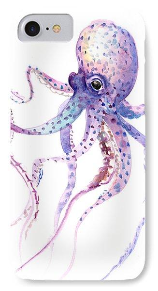 Octopus IPhone Case by Suren Nersisyan