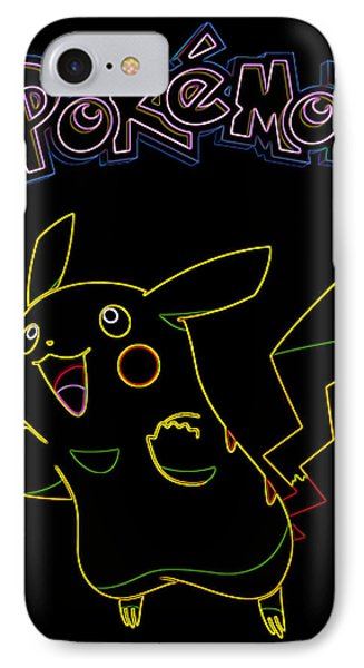 Pokemon - Pikachu Phone Case by Kyle West