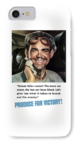 Produce For Victory IPhone Case