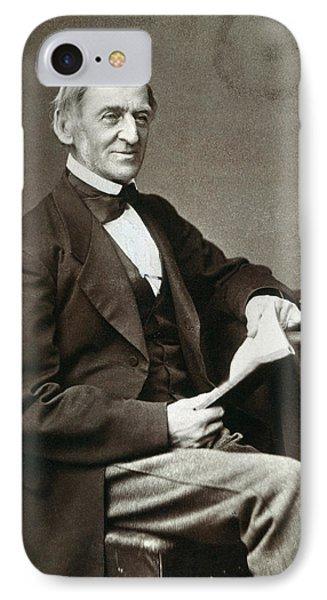 Ralph Waldo Emerson Phone Case by Granger
