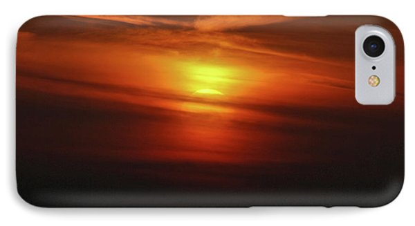 IPhone Case featuring the photograph 7- Sunset by Joseph Keane