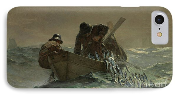 The Herring Net IPhone Case by Winslow Homer