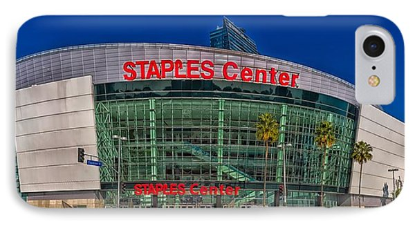 The Staples Center IPhone Case by Mountain Dreams