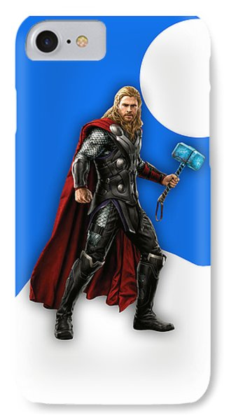 Thor Collection IPhone Case by Marvin Blaine