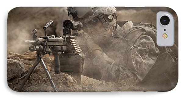 U.s. Army Ranger In Afghanistan Combat IPhone Case by Tom Weber