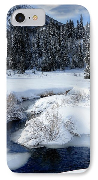 Wasatch Mountains In Winter IPhone Case by Utah Images