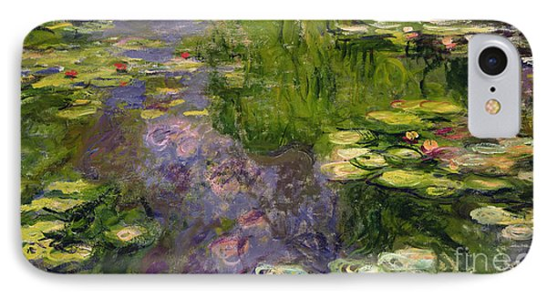 Waterlilies IPhone Case by Claude Monet