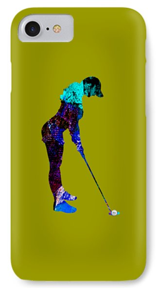 Womens Golf Collection IPhone Case by Marvin Blaine