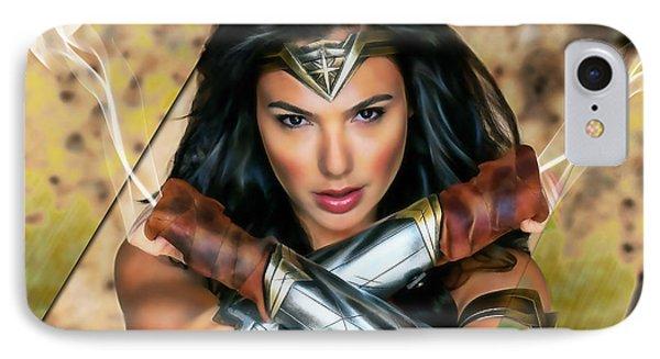 Wonder Woman Art IPhone Case