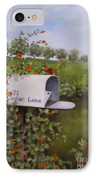 71 Cedar Lane Phone Case by Karen Olson