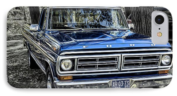IPhone Case featuring the photograph 73 Ford Pickup by Brad Allen Fine Art