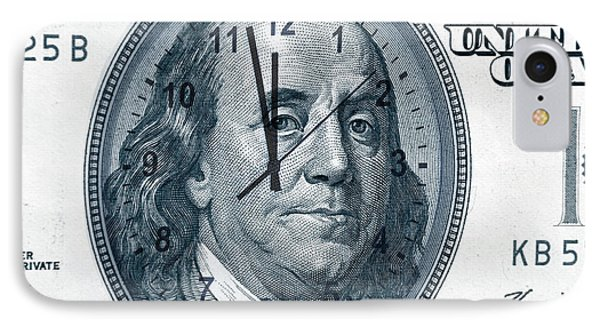 Time Is Money  IPhone Case by Les Cunliffe