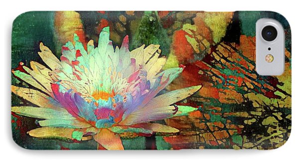 Jeweled Water Lilies IPhone Case