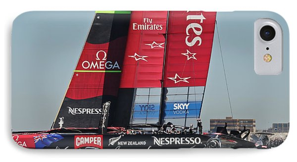 America's Cup 34 IPhone Case by Steven Lapkin