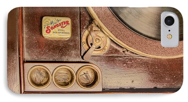 IPhone Case featuring the photograph 78 Rpm And Accessories by Gary Slawsky