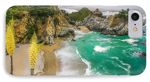 #7842 - Big Sur, California IPhone Case