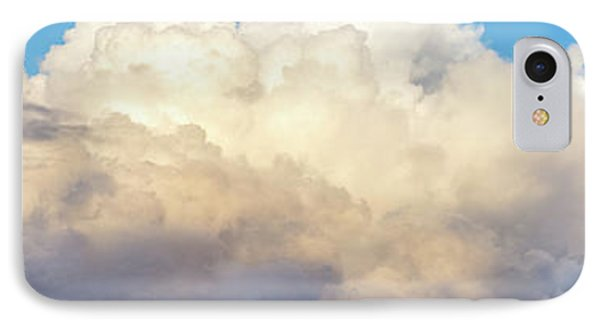 IPhone Case featuring the photograph Clouds by Les Cunliffe