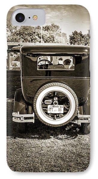 1924 Buick Duchess Antique Vintage Photograph Fine Art Prints 118 IPhone Case by M K  Miller