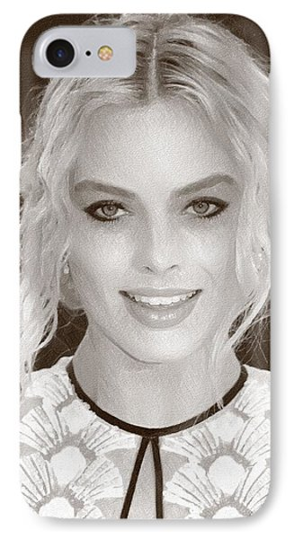 Actress Margot Robbie IPhone 7 Case