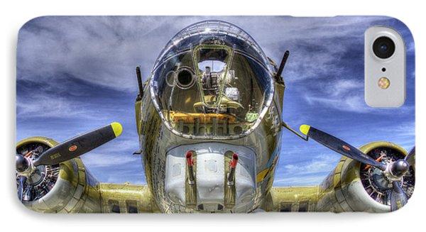 B-17 IPhone Case by Joe  Palermo