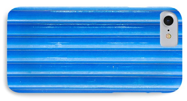 Blue Metal IPhone Case by Tom Gowanlock