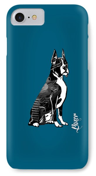 Boxer Collection IPhone Case by Marvin Blaine