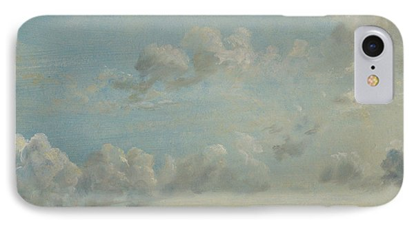 British Title Cloud Study IPhone Case by John Constable