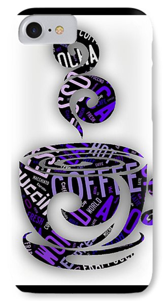 Coffee Menu Collection IPhone Case by Marvin Blaine