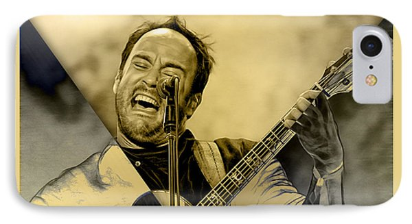Dave Matthews Collection IPhone Case by Marvin Blaine