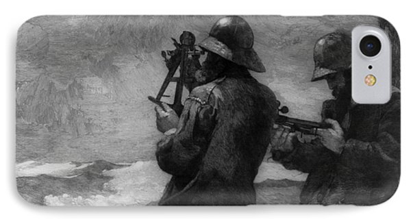 Eight Bells IPhone Case by Winslow Homer