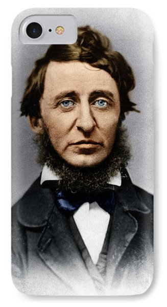IPhone Case featuring the photograph Henry David Thoreau by Granger
