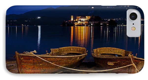 Island Of San Giulio Phone Case by Joana Kruse