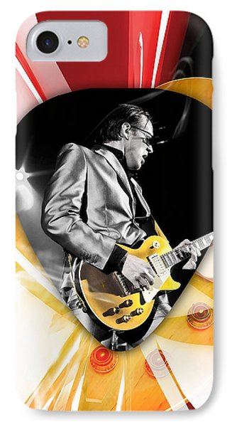 Joe Bonamassa Blues Guitarist Art IPhone Case