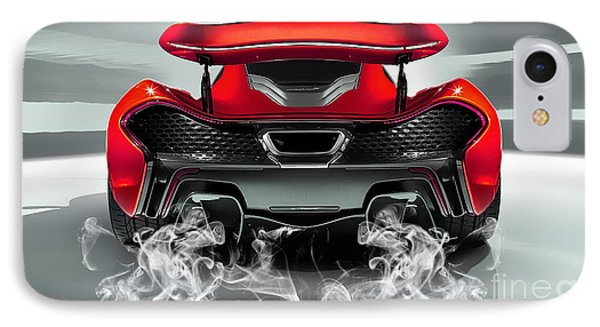 Mclaren P1 Collection IPhone Case by Marvin Blaine