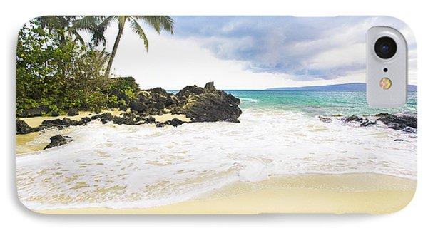 Paako Beach Makena Maui Hawaii IPhone Case by Sharon Mau