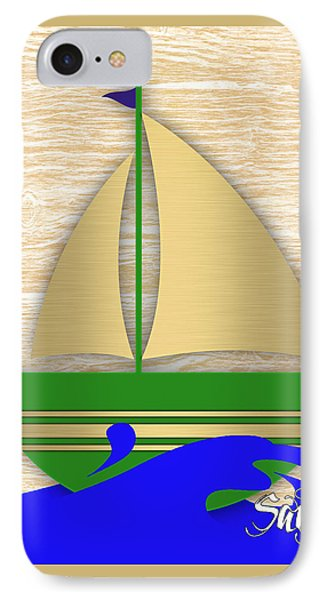 Sailing Collection IPhone Case by Marvin Blaine